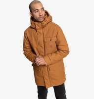 Clothing & Accessories  - Canongate - Water-Resistant Hooded Workwear Parka for Men - Orange - DC Shoes