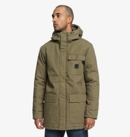 Clothing & Accessories  - Canongate 2 - Water-Resistant Workwear Parka for Men - Green - DC Shoes