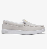 Clothing & Accessories  - Villain 2 S Wes Kremer - Slip-On Suede Skate Shoes for Men - White - DC Shoes