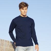 T-Shirts, Polos & Tops  - Fruit of the Loom Valueweight Long Sleeve T-Shirt