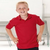 T-Shirts, Polos & Tops  - Jerzees Kids Pique Polo Shirt