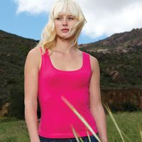 T-Shirts, Polos & Tops  - Mantis Womens Scoop Neck Vest