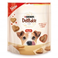 Dog Food  - Purina Deli Bakie Hearts Chicken & Beef (Size: 90 g)