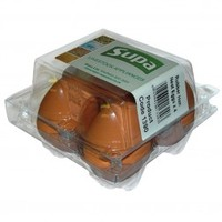 Additional & Supplemental Foods  - Supa Rubber Hen Nest Eggs x 4 - Poultry Products (Size: Each)