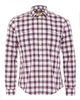 Casual Shirts Barbour International Steve McQueen Sanford Mens Shirt Navy Red Check