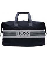 Handbags|Umbrellas  - Hugo Boss Green Mens Pixel JHoldall Navy Blue Logo Gym Bag