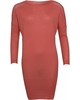 Patrizia Pepe Peach Blossom Knitted Jumper Dress