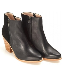 Boots|Trainers  - Sol Sana Melody Boot Black Leather Boot