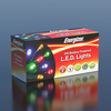 10m Energizer Battery Operated 100 Multi-Colour Chaser Christmas Lights