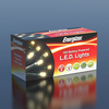 10m Energizer Battery Operated 100 Warm White Chaser Christmas Lights