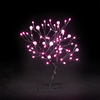 1.5ft/45cm r Dual Size Globe Tree With 64 Pink LEDs