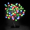 26in/67cm S-Shape LED Globe Tree with 192 Multi-Coloured LEDs