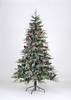 270cm Ontario Spruce PE Flocked Tree With 1629 Tips