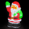 29cm Santa with 40 Ice White Static LEDs