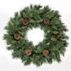 2ft Deluxe Princess Green Wreath