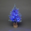 2ft Frosted Lytton Mini Pre-Lit Christmas Tree