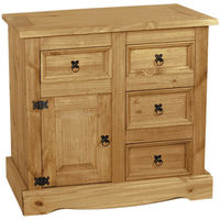 Dining Room  - 4 Drawer Aztec Corona Mexican Pine Sideboard