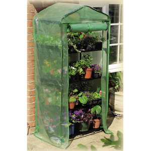 Dining Room  - 4 Tier Growhouse with Reinforced Cover