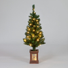 4ft Hazelton Mini Pre-Lit Christmas Tree
