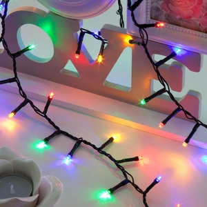 Christmas Decoration  - 500 Compact Multi-Colour Christmas Tree Lights