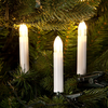 5.2m/17ft Set of 16 Warm White LED Candle Indoor & Outdoor Multifunction Tree Lights