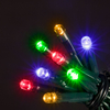 5m Battery Operated 50 Multi-Colour Chaser Christmas Lights