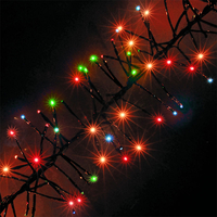 720 Multi-Colour Chasing Outdoor Cluster LED Christmas Lights