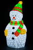 90cm Standing Snowman with 380 Ice White LEDs