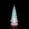 Battery Oprerated Water-Filled 27cm Colour Changing Glitter Tree