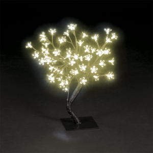 Cherry Blossom Tree with 56 Static & 8 Flashing Warm White LEDs