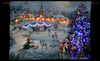 "Nicky Boehme ""Joyful Celebration"" Illuminated Hanging Tapestry"