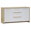 Oak & White Tamara Sideboard with 2 Doors and 3 Drawers