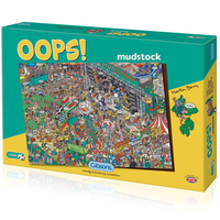 Christmas Decoration|Christmas Tree Decoration  - Oops! Mudstock Jigsaw Puzzle (1000 Pieces)