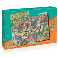 Christmas Decoration|Christmas Tree Decoration  - Oops! Streetlife Jigsaw Puzzle (1000 Pieces)