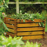 Dining Room  - Open Frame Premium Solid Timber Composter