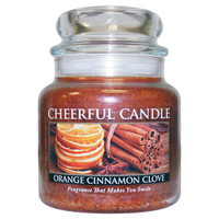 Christmas Decoration|Christmas Tree Decoration  - Orange Cinnamon Clove Cheerful Candles