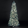 Pre-Lit Blue Duchess Artificial Christmas Tree