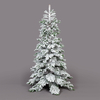 Premium Artificial Nordmann Frosted Christmas Tree