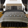 Vancouver Chocolate Single Bumper Bedding Set