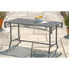 Versailles Antique Grey Iron Coffee Table