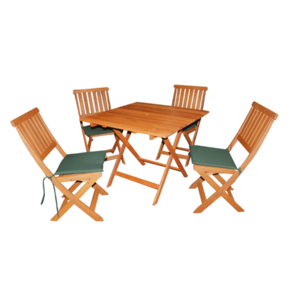 Dining Room  - Victoria 4 Seat Wooden Garden Dining Set
