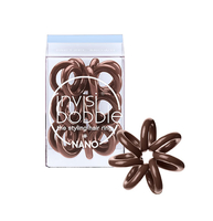 Hair Styling Products|Hair Treatment|Body Care & Hygiene|Hair Styling Equipment  - Invisibobble nano - pretzel brown