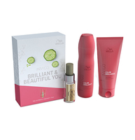 Hair Styling Products|Hair Treatment|Body Care & Hygiene  - Wella brilliance gift set