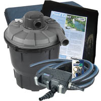 Garden Pools & Bridges  - 12000 Litre Pressurised Pond Kit