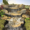 Oase Rockways Rustic Slate Watercourse - Three Piece Concrete Set