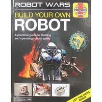 Books  - Haynes - Robot Wars Build Your Own Robot Manual