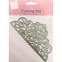 Arts & Crafts Supplies  - Lace Edge Metal Cutting Die
