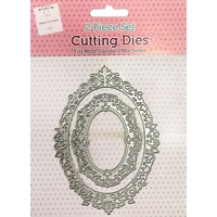 Arts & Crafts Supplies  - Lace Frame Metal Cutting Die Set