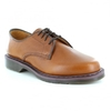 Dr Martens Octavius Mens Leather 4-Eyelet Lace Up Shoes Tan