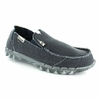 Hey Dude Farty Mens Vintage Canvas Slip-on Shoes - Navy Blue